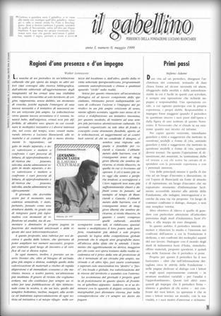 Il Gabellino- periodico della Fondazione Luciano Bianciardi